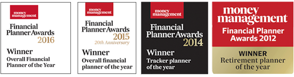 Paul Gibson Financial Planning Awards